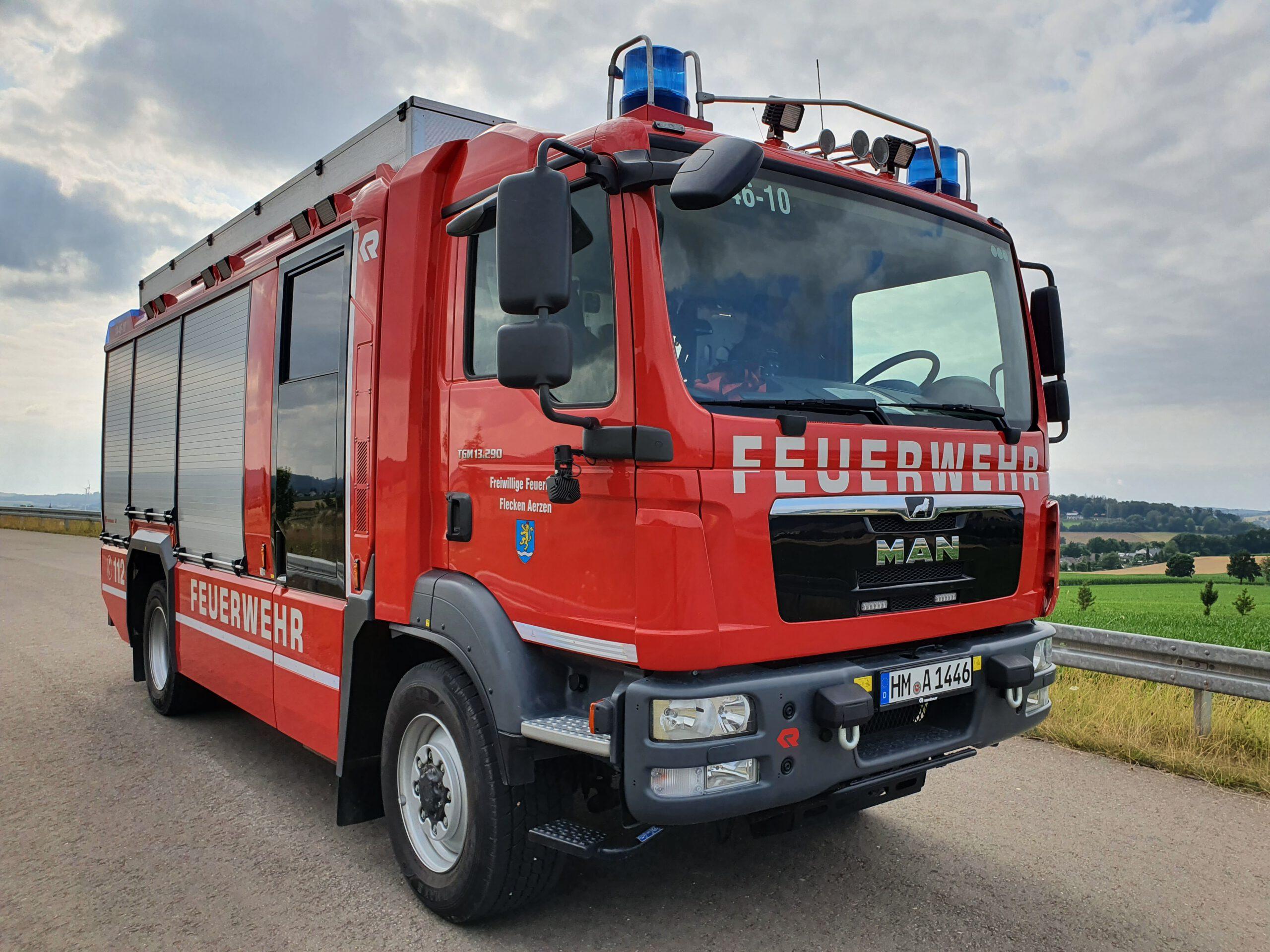 2021-08-02 Großschleife Aerzen FEU Hecke / Busch
